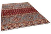 THEKO Orientteppich Kandashah 0083 red/ blue 157 x 209 cm