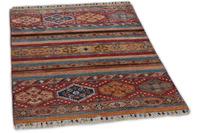 THEKO Orientteppich Kandashah 0124 red multi 85 x 129 cm