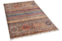 THEKO Orientteppich Kandashah 0305 brown multi 84 x 130 cm