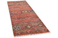 THEKO Orientteppich Kandashah 0319 brown multi 85 x 247 cm