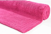 Tom Tailor Badteppich Cotton Double UNI 240 pink