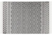 Tom Tailor Handwebteppich Colored Macrame Two grey
