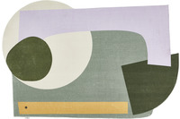 Tom Tailor Teppich Shapes EIGHT green multi
