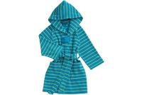 Vossen Kinderbademantel Poldi turquoise