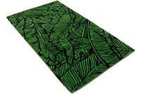 """Vossen Strandtuch """"Bali Jungle"""" schwarz 100 x 180 cm"""