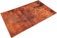 Wecon home Badteppich Room 9 WH-1024-02 rost rot