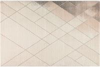 Wecon home Kurzflor-Teppich Velvet Walk WH-22892-655 rosa