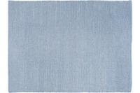 Wohn Idee Handwebteppich Liv, hellblau