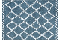 Wohn Idee Teppich Mia, blau