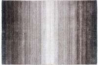 Zaba Loribaft-Teppich Riad schwarz/ silber