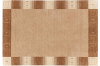 Zaba Loribaft-Teppich Seattle Bordüre beige
