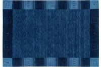 Zaba Loribaft-Teppich Seattle Bordüre blau