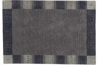 Zaba Loribaft-Teppich Seattle Bordüre grau