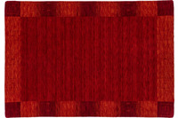 Zaba Loribaft-Teppich Seattle Bordüre rot