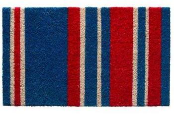 Andiamo Fußmatte 100% Kokos La Vita blau 40 x 60 cm