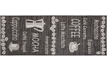 Andiamo Läufer Arizona Kaffee Braun gemustert 67 x 180 cm