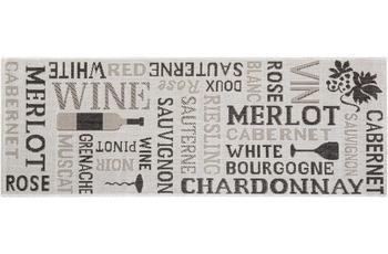 Andiamo Läufer Arizona Wein Grau gemustert 67 x 180 cm