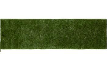 Andiamo Läufer Kuba grün einfarbig 50 x 150 cm