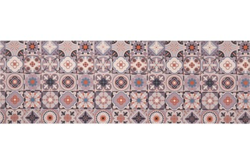 Andiamo Läufer Marrakesch, blau-grau 50 cm x 150 cm