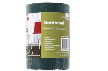 Andiamo Nahtband, grün 0,15 x 10 m