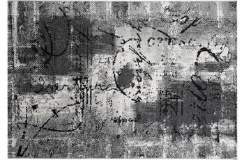Andiamo Teppich Limoges, grau-schwarz 160 cm x 230 cm