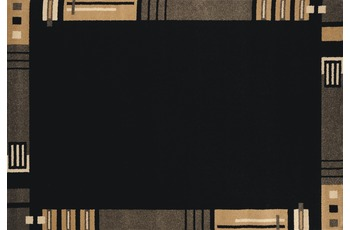 Andiamo Teppich Metz schwarz 67 x 140 cm