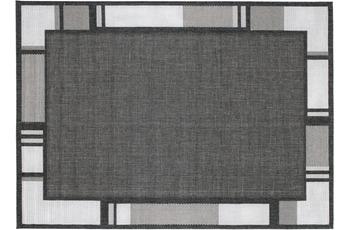 Andiamo Teppich New Orleans, anthrazit/ silber 60 x 110 cm