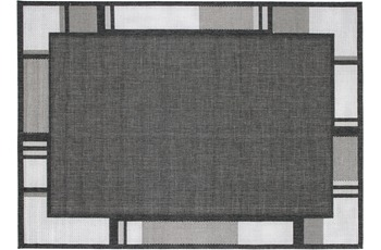 Andiamo Teppich New Orleans, anthrazit/ silber 67 x 180 cm