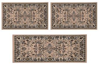 Andiamo Teppich Orient, beige 2x 60x110 + 1x 60x180 cm