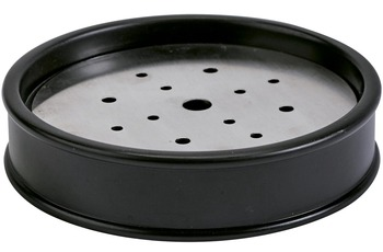 Aquanova BARRIL Seifenschale 09 schwarz Ø 11,2 x 2,5 cm