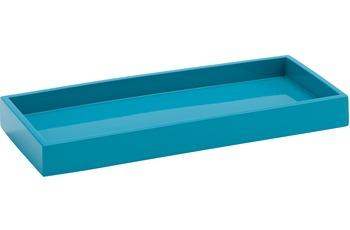 Aquanova TACO Tablett 23x10x2 cm aqua