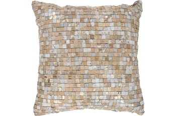 Arte Espina Kissen Finish Pillow 100 Beige /  Gold 45 x 45 cm