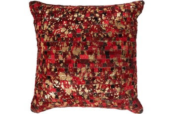 Arte Espina Kissen Finish Pillow 100 Rot /  Gold 45 x 45 cm