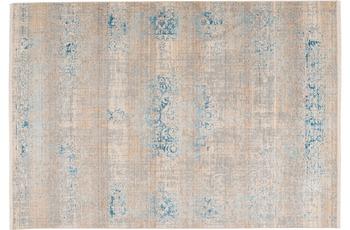 Arte Espina Teppich Baroque 300 Grau /  Türkis 120 x 170 cm