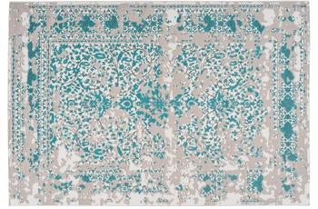Arte Espina Teppich Broadway 600 Türkis 120 x 170 cm