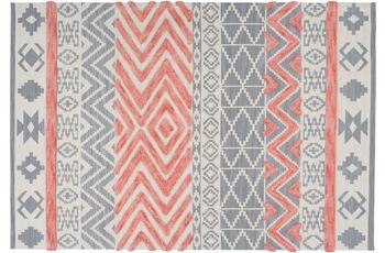 Arte Espina Teppich Ethnie 100 Grau /  Apricot 120 x 170 cm