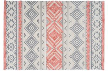 Arte Espina Teppich Ethnie 200 Grau /  Apricot 120 x 170 cm