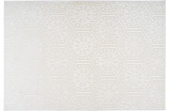 Arte Espina Teppich Monroe 200 Weiß 120 x 170 cm