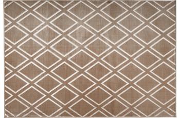 Arte Espina Teppich Monroe 300 Taupe 80 x 300 cm