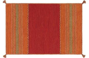 Arte Espina Handwebteppich Navarro 2920 Rot 120 x 170 cm