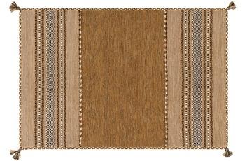 Arte Espina Handwebteppich Navarro 2921 Braun 60 x 90 cm