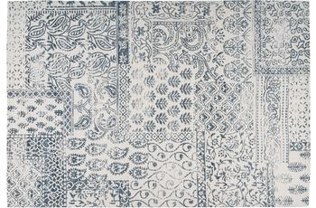 Arte Espina Teppich Yoga 300 Dunkelblau /  Elfenbein