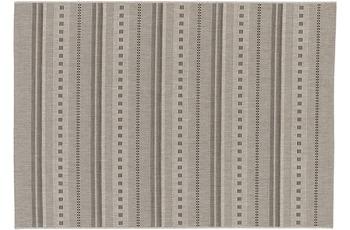 Astra Teppich Andria 162 Farbe 004 Streifen silber 160x230 cm