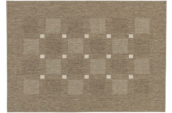 Astra Andria 163, Farbe 084 Kästchen taupe 120x170 cm