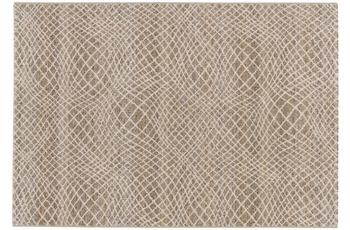 Astra Teppich Carpi Design151 Farbe 6 Gitter beige 160 cm x 230 cm