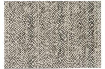 Astra Carpi Design 151, Farbe 004 Gitter silber 80 x 150 cm