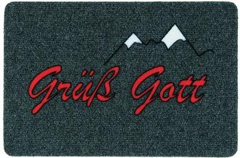 Astra Flocky Color Des. 100 Grüß Gott anthrazit
