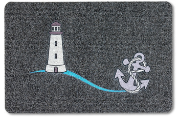 Astra Flocky Color Des. 99 Leuchtturm anthrazit