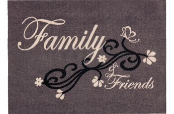 Astra Fussmatte Cardea Family grau 50x70