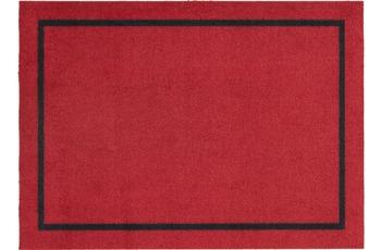 Astra Fussmatte Cardea Uni rot